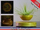 ZOMTOP磁気浮上エア盆栽サスペンションフラワーポット鉢植え浮揚浴槽