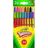[クレヨラ]Crayola Twistables Colored Pencils 18 Count ,Total 216 Case of 12 [並行輸入品]