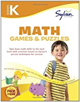 Kindergarten Math Games & Puzzles (Sylvan Workbooks) (Sylvan Math Workbooks)