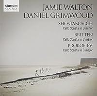 Cello Sonatas By Shostakovich Britten & Prokofiev