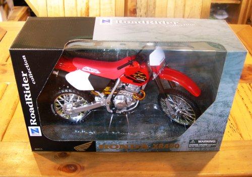 NewRay 1/6 Motorcycle Honda XR400 (red) モトクロス/オフロード/FMX/MOTOCROSS/模型/1:6/赤/レッ...