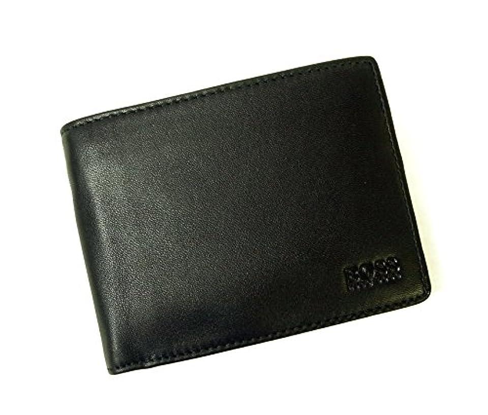 詳細に美しいアラート[ヒューゴボス]HUGO BOSS 財布 AREZZO ソフトレザー三つ折(ブラック) 50250280 HB-106 [並行輸入品]