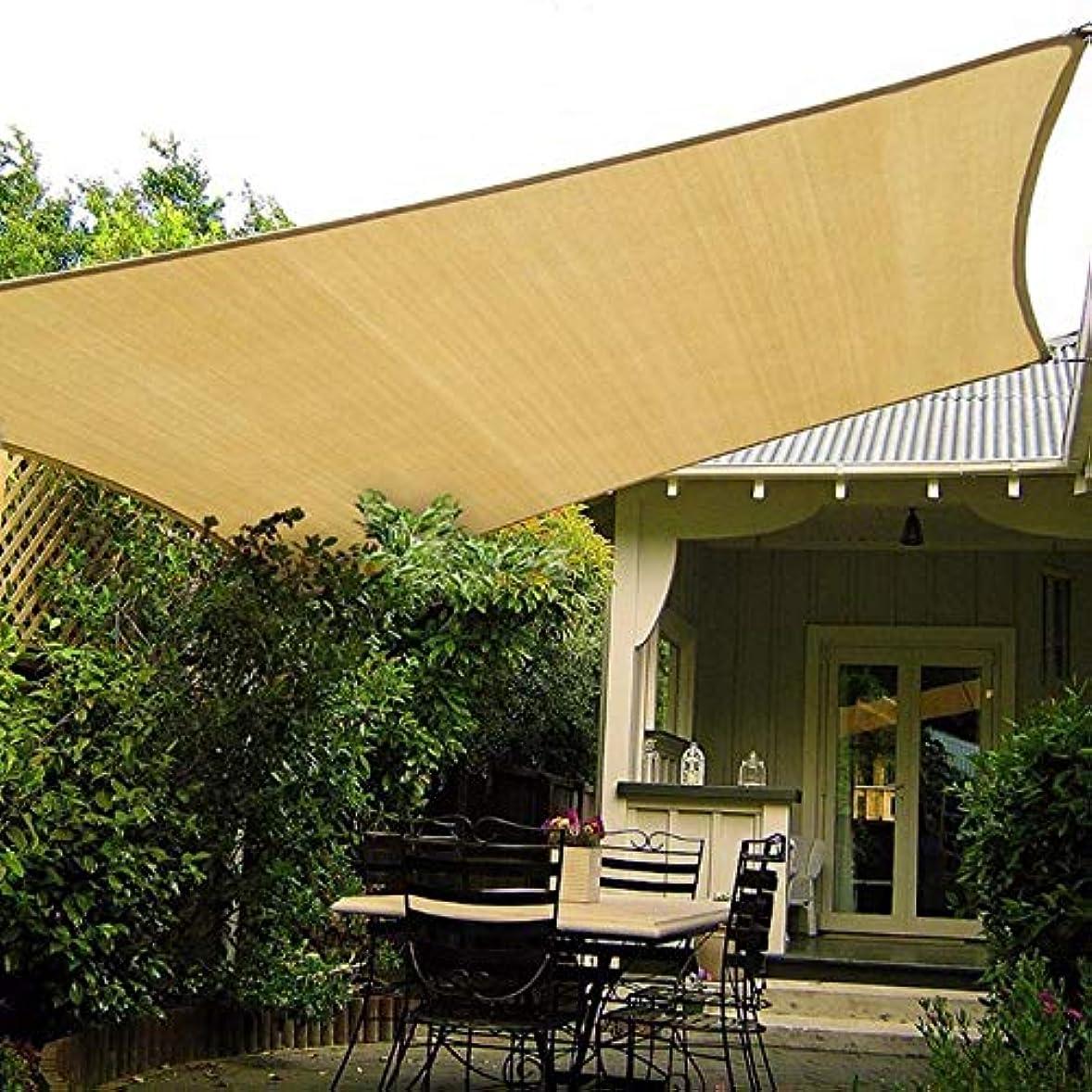 陪審星コーラス2×5メートル四角長方形unシェードコートヤードポリエステルオックスフォード布防水抗uv抗酸化ライト防雨