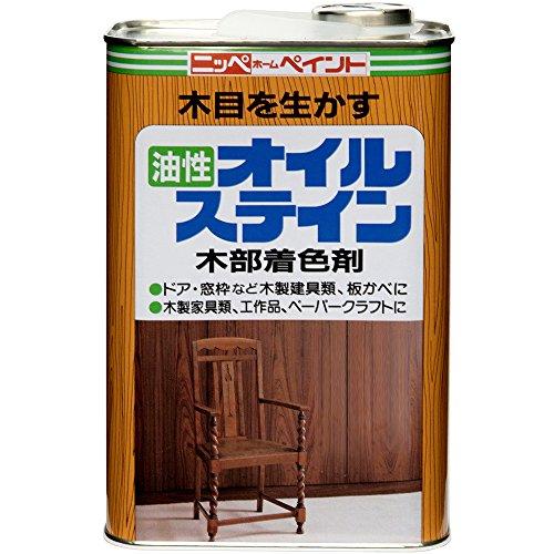 RoomClip商品情報 - ニッペ オイルステイン 1L チーク