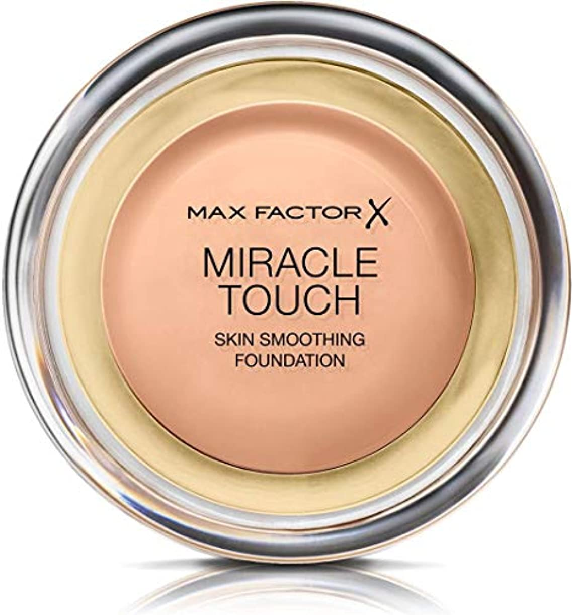 トーンピンチ介入するマックス ファクター ミラクル タッチ スキン スムーズ ファウンデーション - ローズ ベージュ Max Factor Miracle Touch Skin Smoothing Foundation - Rose Beige...