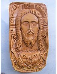 Handmade Carved Aromaticワックスから祝福アイコンアトスのマンディリオン125