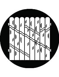 家紋シール 竹垣紋 布タイプ 直径40mm 6枚セット NS4-2219