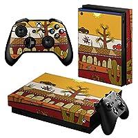 igsticker Xbox One X 専用 スキンシール 正面・天面・底面・コントローラー 全面セット エックスボックス シール 保護 フィルム ステッカー 005347