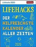 Lifehacks - Kalender 2020: Der hilfreichste Kalender aller Zeiten