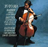 バーバー:チェロ協奏曲/ブリテン:チェロ交響曲