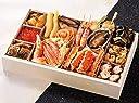 北海道 稚内 流氷市場 海鮮おせち料理 2019 予約 特大一段重 15品 盛り付け済み 冷凍 お届け日:12月30日
