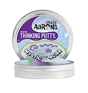 【 UV反応 & 蓄光タイプ シリコン製パティ 】 Crazy Aaron's Putty World シンキング パティ ファントム シリーズ ブラックライト付 EU安全規格適合 内容量90g レギュラーサイズ Made in USA 日本正規代理店品 【 ミスティック・グラシア 】 MG020