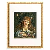 Stillman, Marie,1844 - 「Contemplative girl.」 額装アート作品