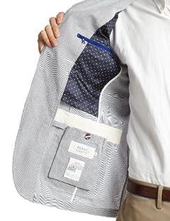 Cordlane 2-button Jacket 51-16-0016-012: Blue