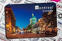 カナダお土産Tourist冷蔵庫マグネットソフト磁気スティックMontreal , Quebec