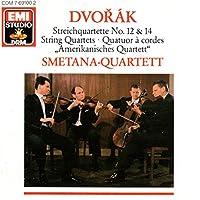 Streichquartett Nr.12 & 14 / Smetana-quartett