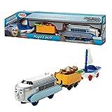 トラックマスター TRACK MASTER きかんしゃトーマスとなかまたち ヒューゴ&スキフ Hugo&Skiff (DVF84) プラレールのレールでも走ります♪