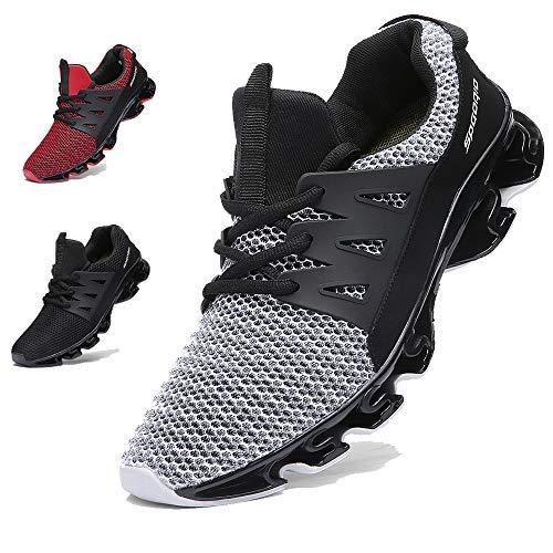 [Ahico] スニーカー ランニングシューズ ジョギング クッション メンズ レディース カジュアル 運動靴 通気 ファッション アウトドア ウォーキング