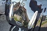 【6ヶ月保証付】【JOKER[ジョーカー]50/90】 純正リペア用 メッキ フロントモール 外装 aiNET製