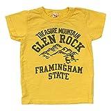 (オフィシャルチーム) OFFICIAL TEAM キャンプ グレン ロック Tシャツ CAMP GLEN ROCK T-SHIRTS半袖/プリントT/ロゴT 80 イエロー