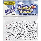 ALPHA BEADS 7mm Rnd (250 Piece), White