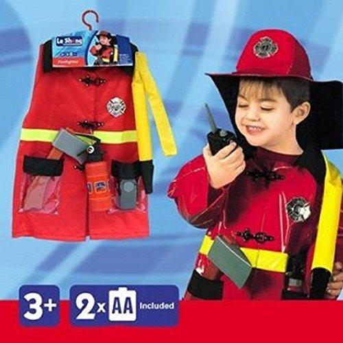 僕は消防士! 子供 ハロウィン コスチュ...