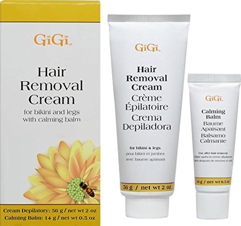 飾る疲労差別的(1) - Gigi Hair Removal Cream W/Balm For Bikini & Legs