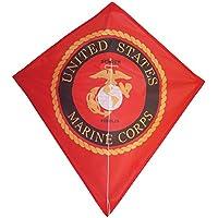 In the Breeze U.S. Marine Corps Emblem Diamond Kite, 28-Inch [並行輸入品]