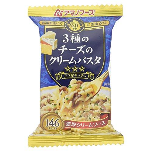 アマノフーズ 3種のチーズクリームパスタ 29g