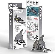 EUGY 021 Dolphin Eco-Friendly 3D Paper Puzzle
