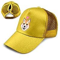 帽子キャップCute Shiba Inu Lover Puppy 夏 秋 メッシュキャップ 通気性抜群 日除け 紫外線対策 登山 釣り ゴルフ 運転 アウトドアなどに 無地 小顔効果 男女兼用