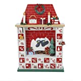 クルトS.アドラー社C6207クルトアドラー15 ''装飾と木製の煙突クリスマスアドベントカレンダー