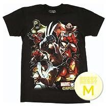 マーベル VS カプコン グループTee/Marvel vs Capcom Group T-Shirt Sheer ゲーム・アニメ・コミックTシャツ M【並行輸入】