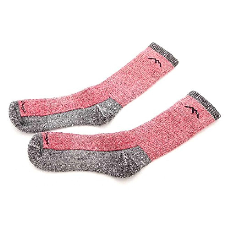ツインゲートウェイ運営DARN TOUGH(ダーンタフ) Mens Boot Sock Extra Cushion 1918 Red ブーツ ソック エクストラ クッション ウールソックス 靴下