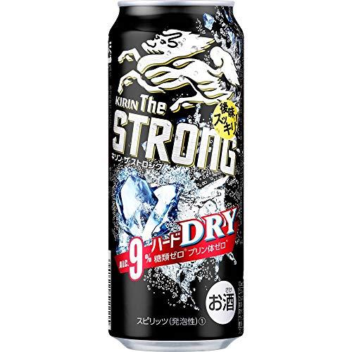 キリンビール キリン・ザ・ストロング ハードドライ500ml缶×24缶