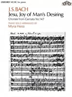 Jesu, Joy of Man's Desiring: Piano Solo