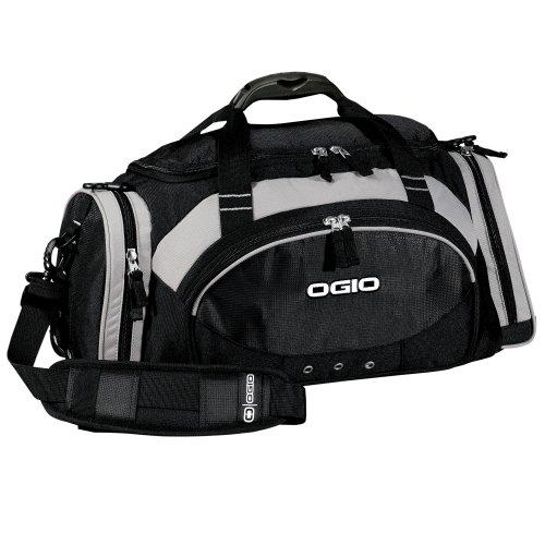 (オジオ) Ogio オール ターレイン スポーツ ボストンバッグ ダッフルバッグ 旅行かばん (40L) (ワンサイズ) (ブラック)