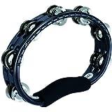 MEINL Percussion マイネル タンバリン Traditional ABS Tambourine Steel Jingles Black TMT1BK 【国内正規品】