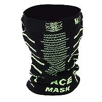 ちり止めのマスク、屋外のサイクリングスキーのための耐久の反塵の汚染のちり止めのマスク(ブラックグリーン)