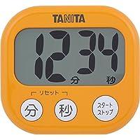 タニタ でか見えタイマー100分 アプリコットオレンジ TD-384-OR