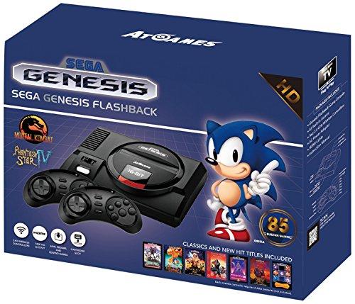 Sega Genesis Flashback HD 2017 Console...