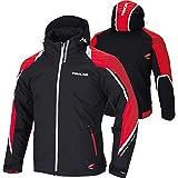 RSタイチ(アールエスタイチ)バイクジャケット ブラック/レッド (XL) アビエイター オールシーズンジャケット RSJ712