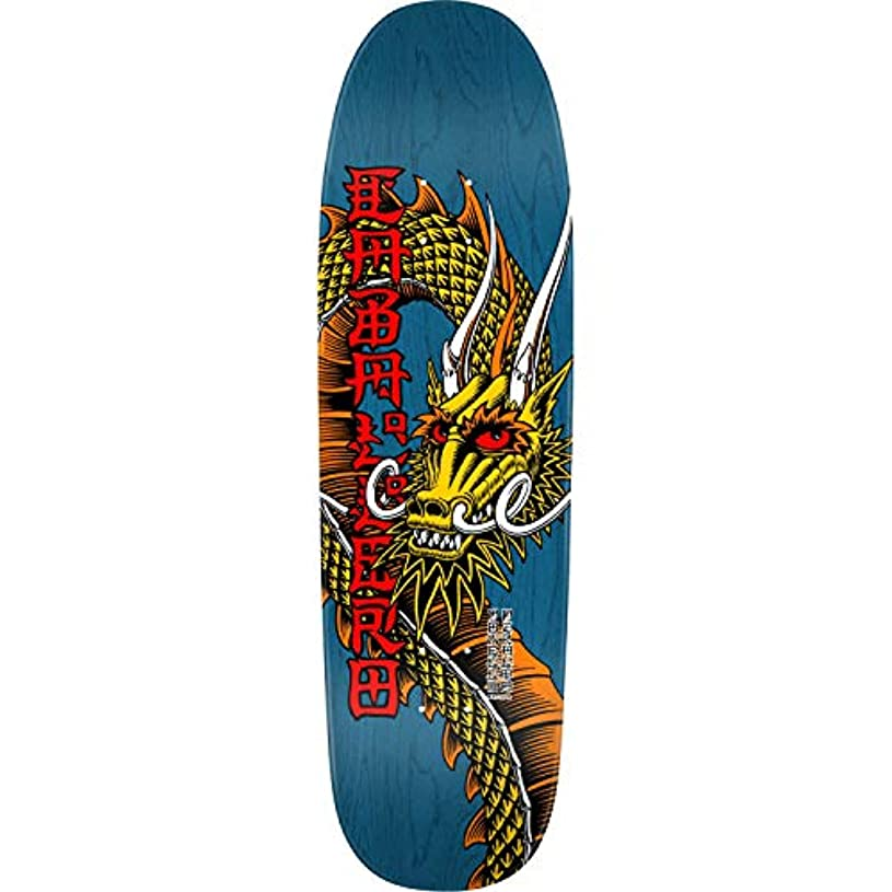 結紮悪性の差Powell-Peralta スケートボードデッキ Caballero Cab Ban This Blue RE-Issue