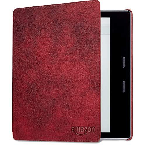 Amazon純正  Kindle Oasis (第9世代) 用 レザーカバー メルロー