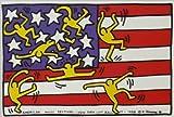 ◆キース・ヘリング 【ニューヨークシティー】◆アートプリント◆額装付き◆ / Nippon Art