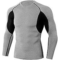 TIANYUTU Compression Shirt Men Fitness Long Sleeves Running Shirt Men Gym T Shirt Football Jersey Sportswear Sport Tight