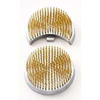 石﨑剣山 ハナカツ 剣山 日月小 セイフティタイプ(鎖付) 真鍮針 301