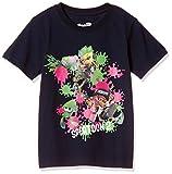 [スプラトゥーン] Tシャツ KIDS ナワバリバトル キッズ 22823712 ネイビー 日本 130 (日本サイズ110 相当)
