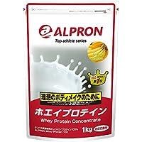 ホエイプロテイン バナナ風味 1kg アルプロン