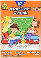 School Zone Curriculum Workbooks 32 Pages-Manuscript Writing Grades K-2 [並行輸入品]